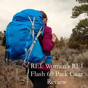 REI: Women's REI Flash 60 Pack Gear Review